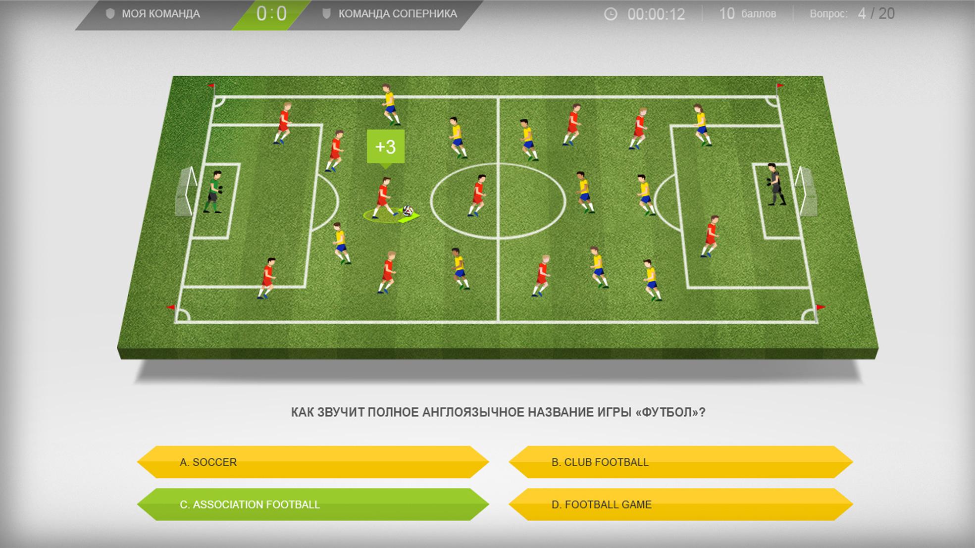 Как звучит полное англоязычное название игры футбол»?
